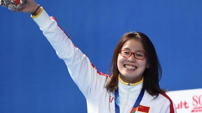 Fu Yuanhui bei den Weltmeisterschaften im Schwimmen in Russland