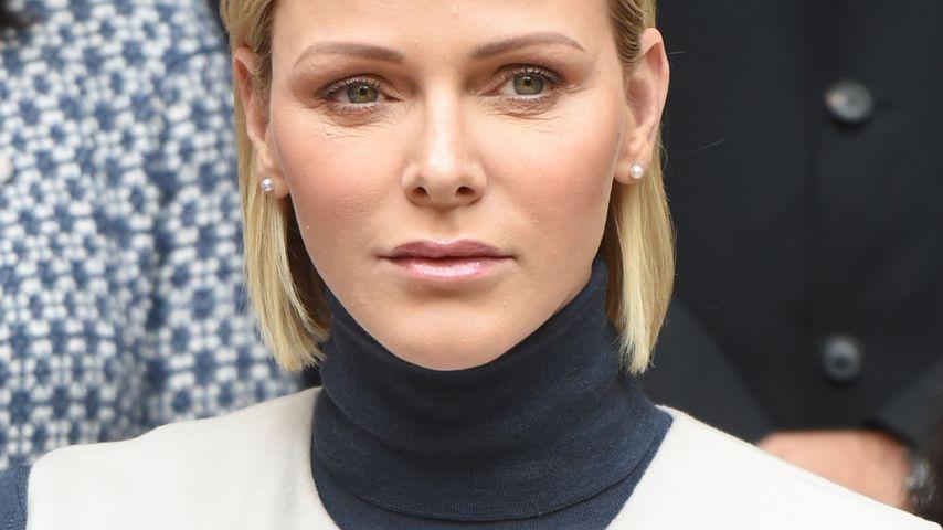 Fürstin Charlène in Monte-Carlo im November 2019