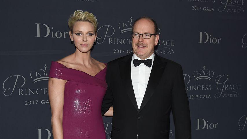 Fürstin Charlène und Fürst Albert bei der Princess Grace Awards Gala