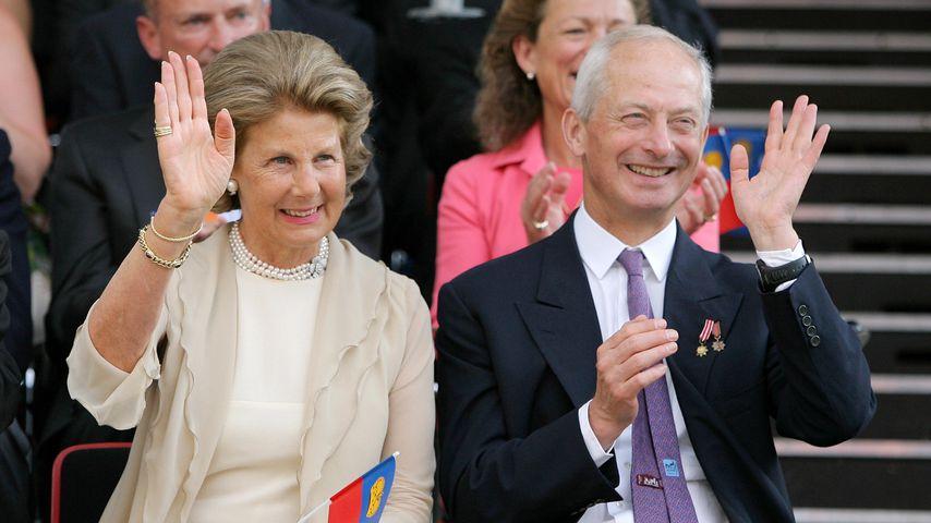 Fürstin Marie von und zu Liechtenstein und Hans-Adam II.