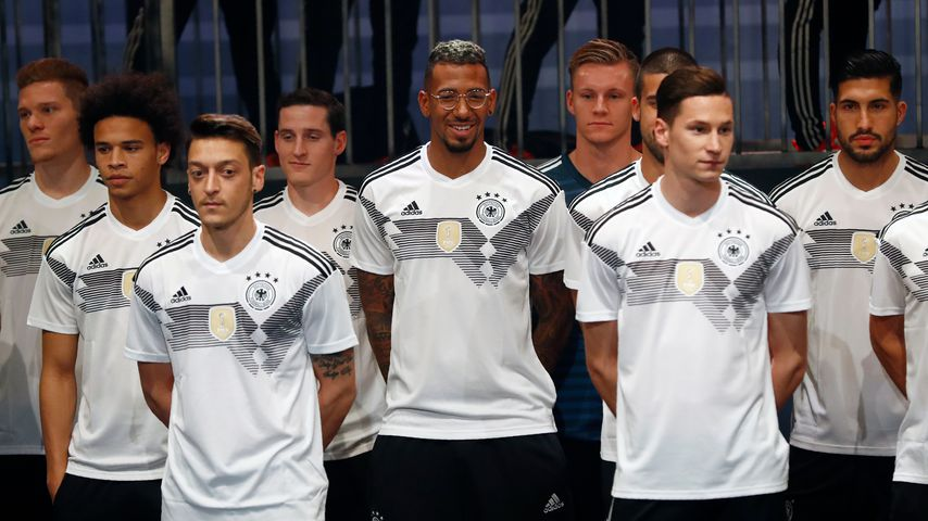 Deutsche Fußballnationalmannschaft bei der Trikot-Vorstellung