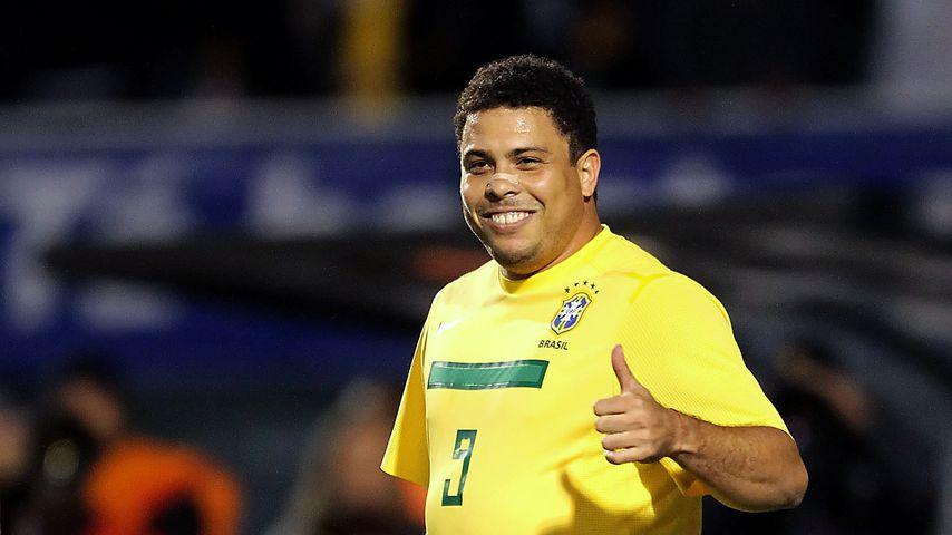 Fußballer Ronaldo bei einem Freundschaftsspiel 2011