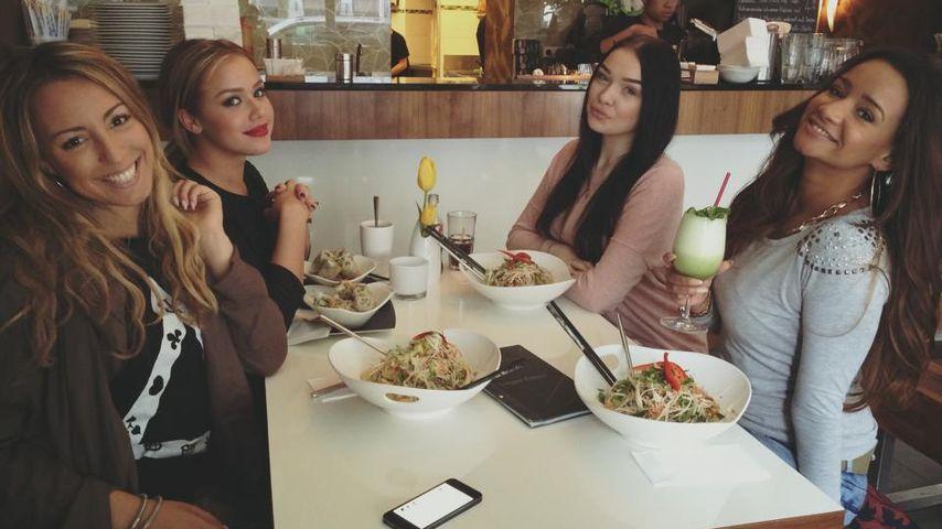 Girls-Time: Gabby & Kim Gloss beim Mittagessen