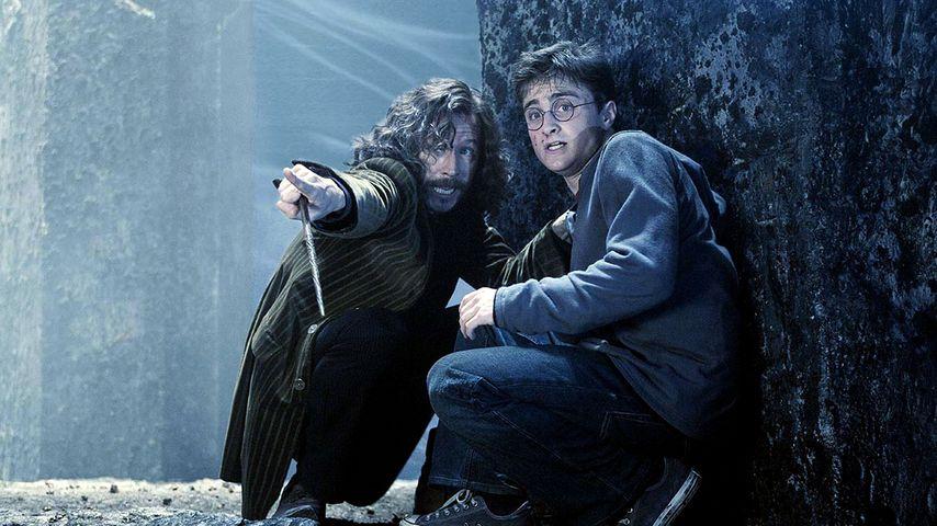 """Gary Oldman und Daniel Radcliffe in """"Harry Potter und der Orden des Phönix"""", 2007"""