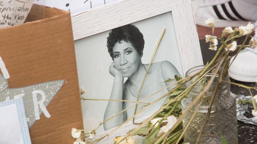 Gedenkbild von Aretha Franklin