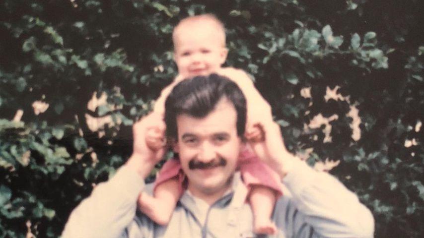 Gemma Atkinson und ihr verstorbener Vater