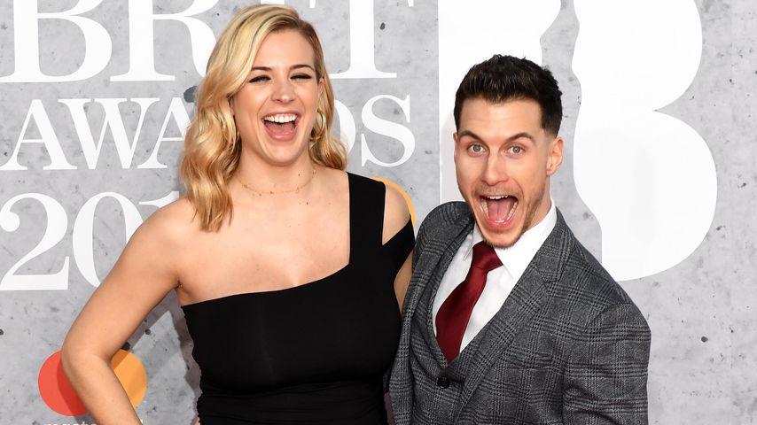 Gemma Atkinson und ihr Partner Gorka Marquez bei den Brit Awards 2019