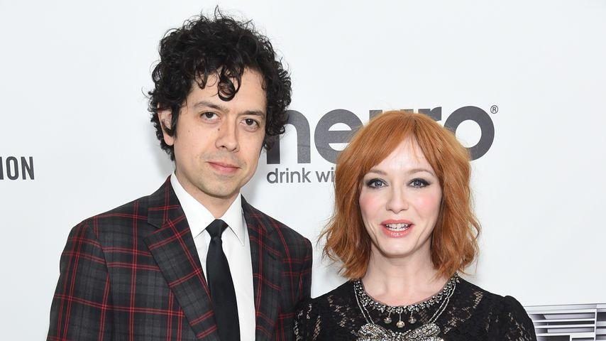 Geoffrey Arend und Christina Hendricks im Februar 2019