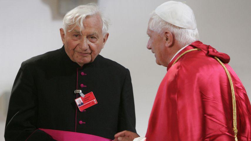 Georg Ratzinger und Papst Benedikt XVI.