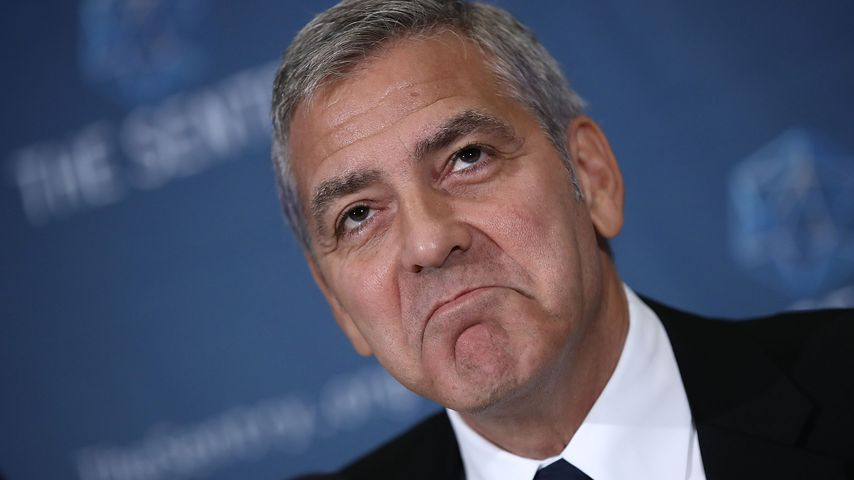 """George Clooney übers Vatersein: """"Ich weine viermal täglich"""""""