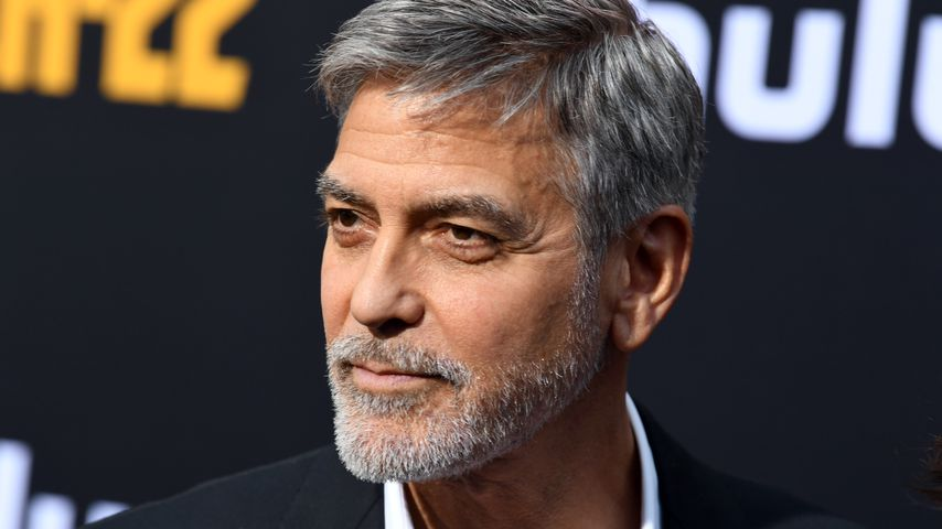 Für Film abgenommen: George Clooney musste ins Krankenhaus