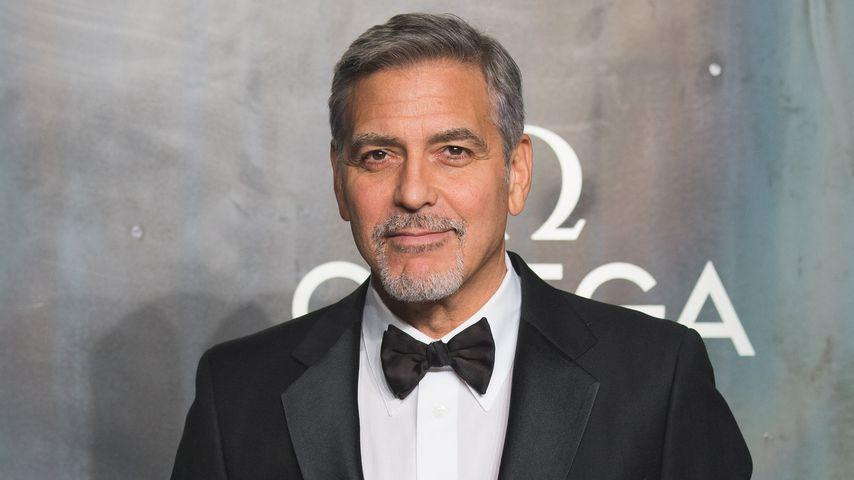 George Clooney in London