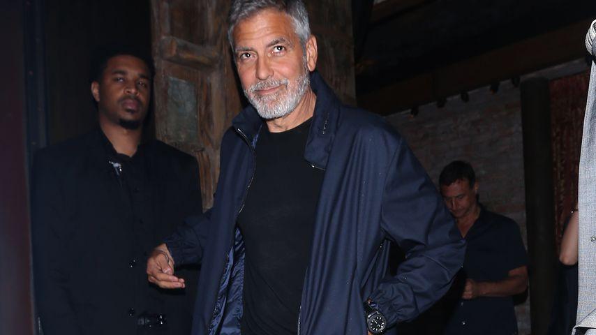 Nach George Clooneys Unfall: Muss der Fahrer ins Gefängnis?