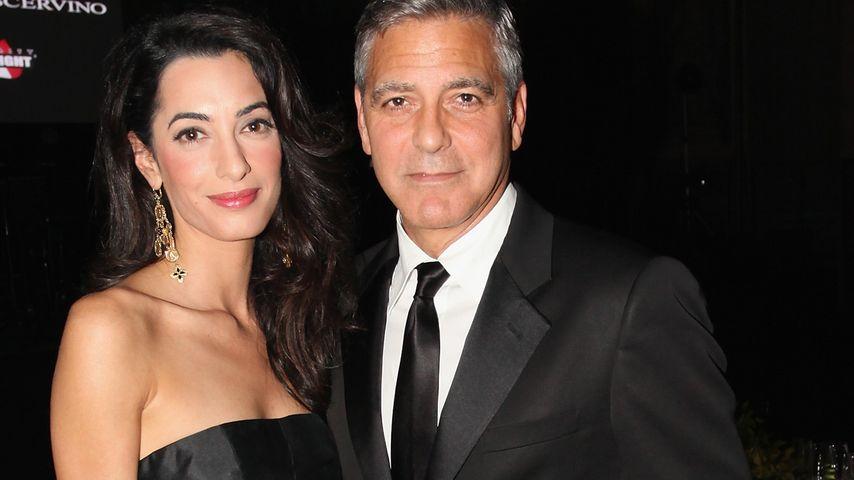 Nach Hochzeit: So schwärmt Amal von George Clooney