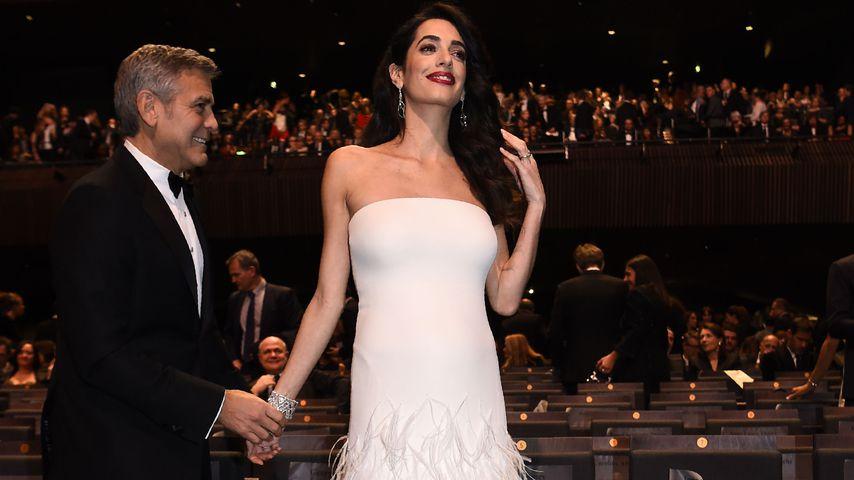 George Clooney und Amal Clooney in Paris, Februar 2017