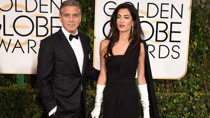 Enorme Ehe-Krise: Wie sehr leidet George Clooney?