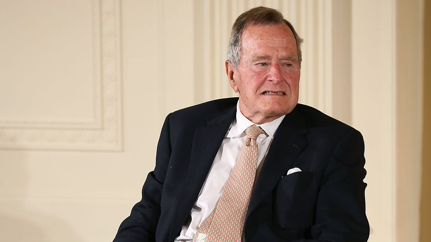 George H. W. Bush, Ex-Präsident der USA