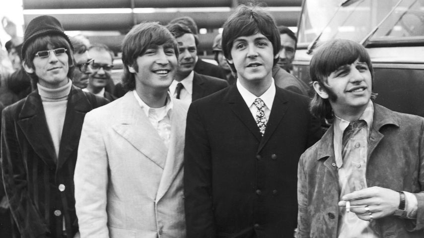 George Harrison, John Lennon, Paul McCartney und Ringo Starr, 1966