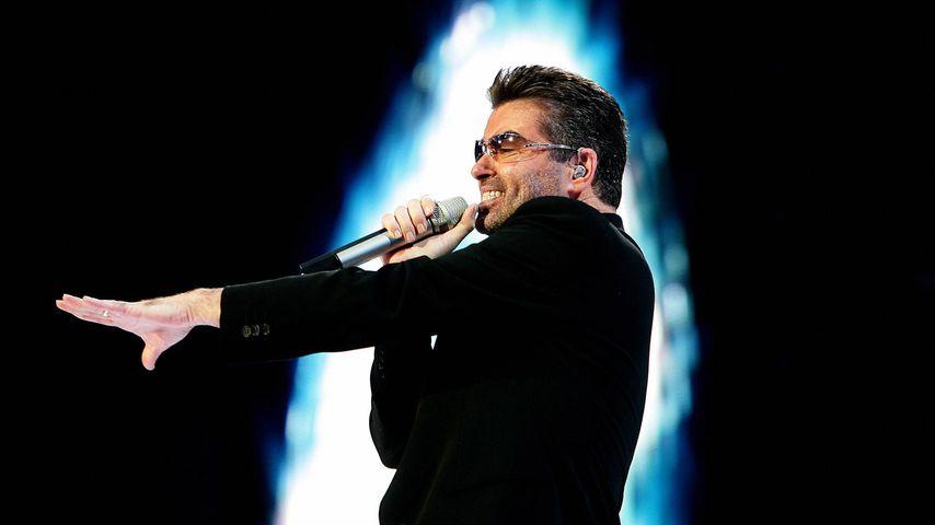 George Michael bei einem Konzert in Amsterdam, 2007