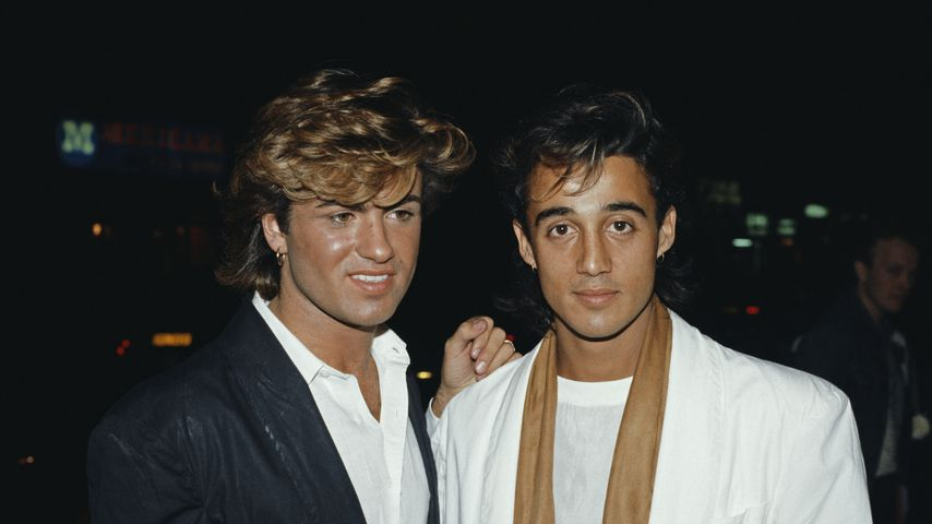 George Michael und Andrew Ridgeley, 1984
