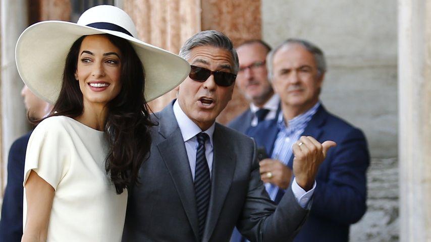 Hochzeit Teil 2: So lässig wird Amal Mrs. Clooney