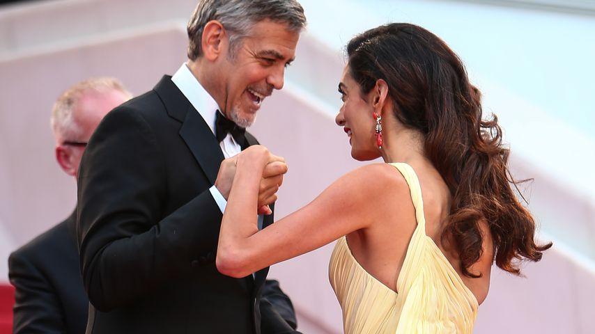 George Clooney und seine Frau Amal in Cannes