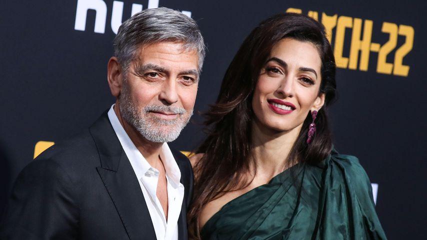 George und Amal Clooney 2019 in Los Angeles