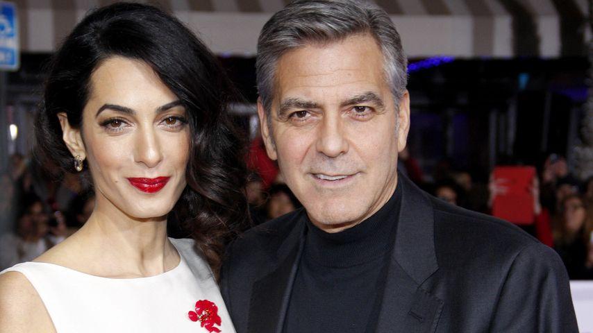 """Amal und George Clooney bei der Weltpremiere zu """"Hail, Caesar"""" in Westwood 2016"""