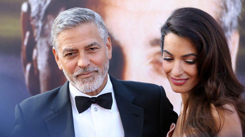 George und Amal Clooney bei einer Gala in Los Angeles