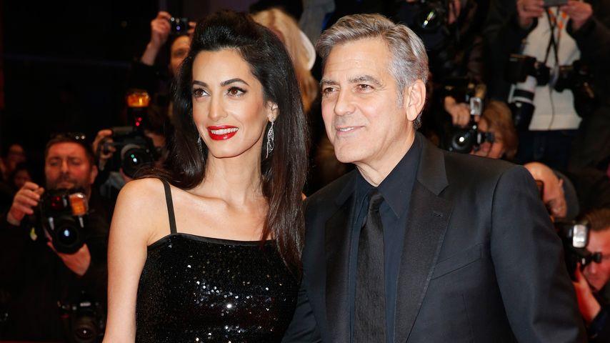 Amal und George Clooney auf der Berlinale 2016