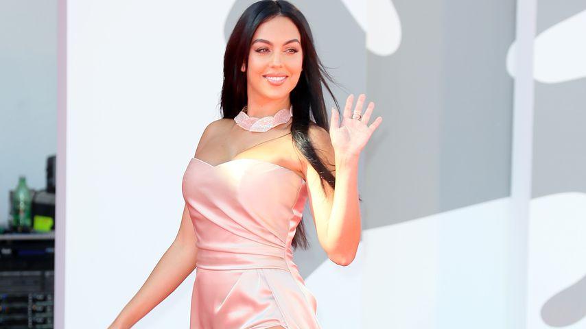 Georgina Rodríguez auf dem Film Festival in Venedig im September 2020