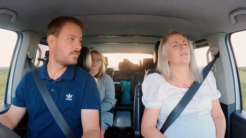 """Gerald, Anna und Annas Mutter bei """"Bauer sucht Frau – Gerald und Anna im Babyglück"""""""