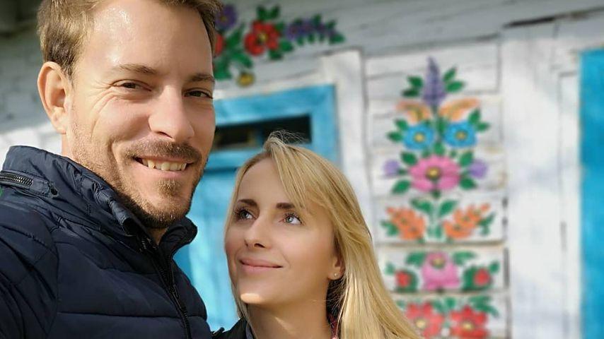 Gerald und Anna Heiser in Polen, April 2019