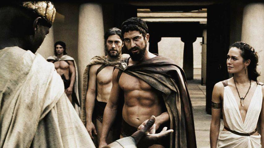 "Gerard Butler als Leonidas im Film ""300"""