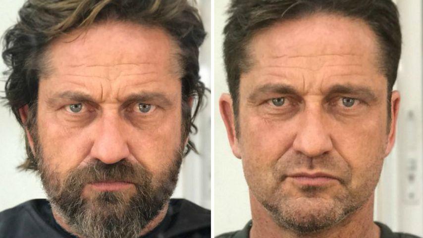 Bart ab gerard butler flippt beim rasieren v llig aus for Butlers impressum