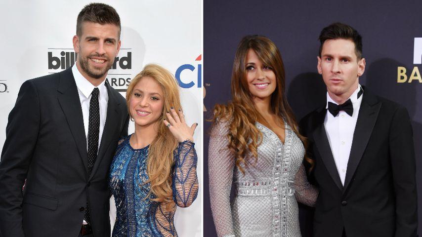 Frauen-Beef: Piqué wegen Shakira nicht auf Messis Hochzeit