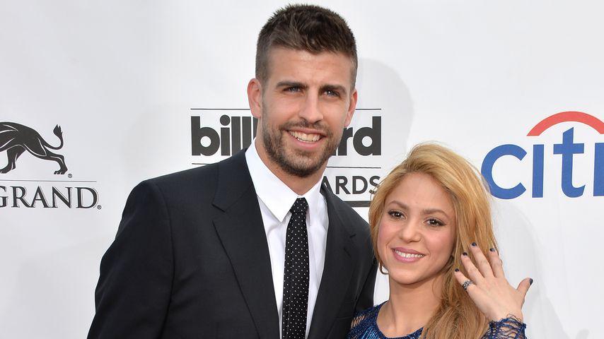 Gerard Piqué und Shakira bei den Millboard Music Awards 2014