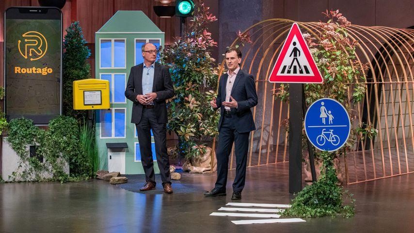 """Gerd Güldenpfennig und Stefan Siebert bei """"Die Höhle der Löwen"""""""