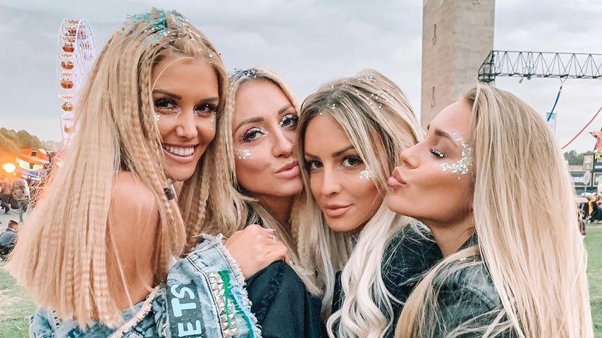 Gerda, Larissa, Doreen und Kristina beim Lollapalooza Festival 2019