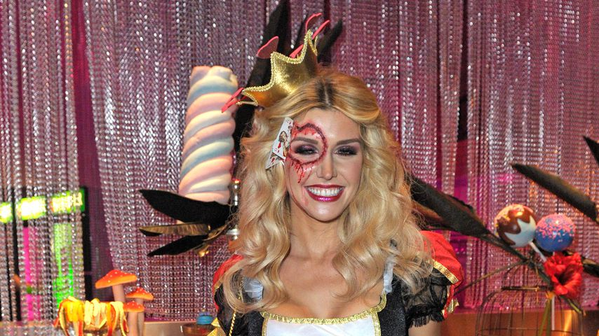 Gerda Lewis bei der NYX Professional Make-up Halloween-Party in Berlin, Oktober 2019
