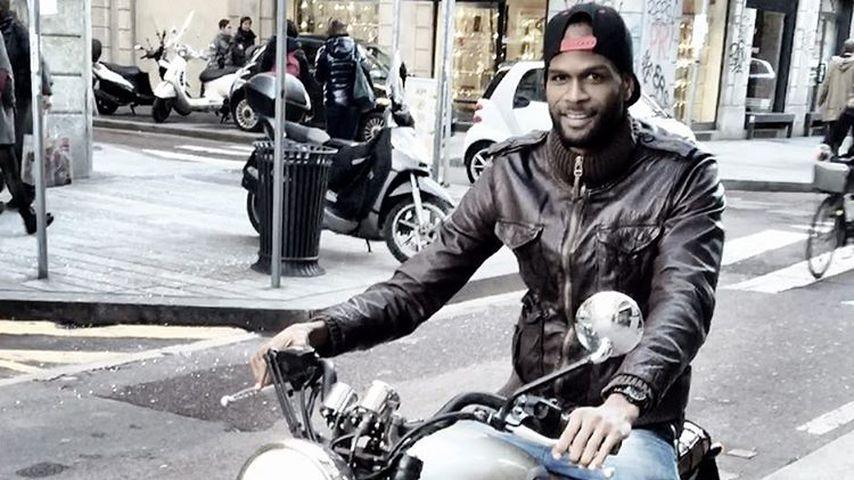 Germaine Mason auf dem Motorrad