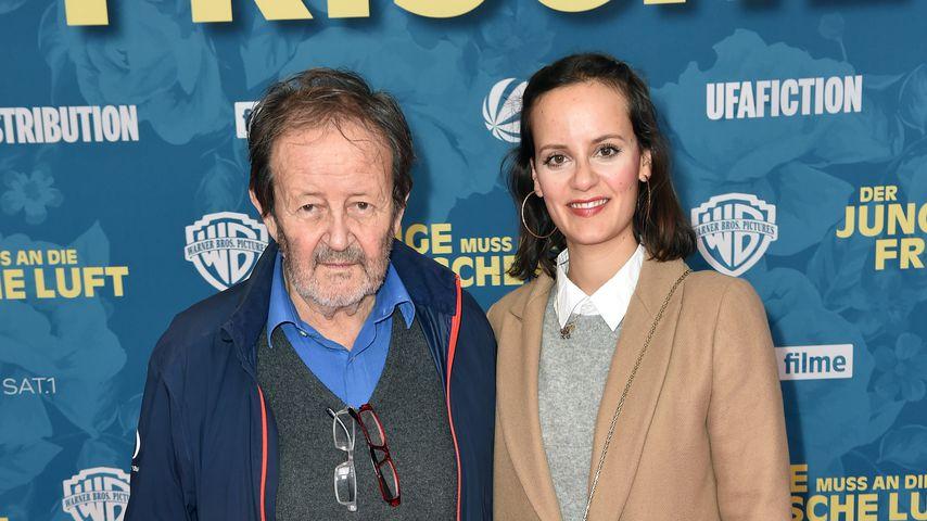 Gernot Roll und seine Tochter Laura