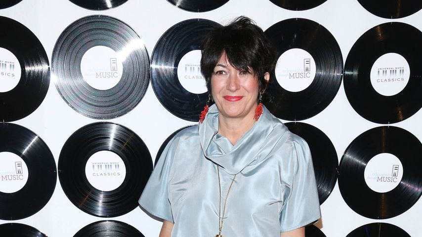 Ghislaine Maxwell in New York, 2014