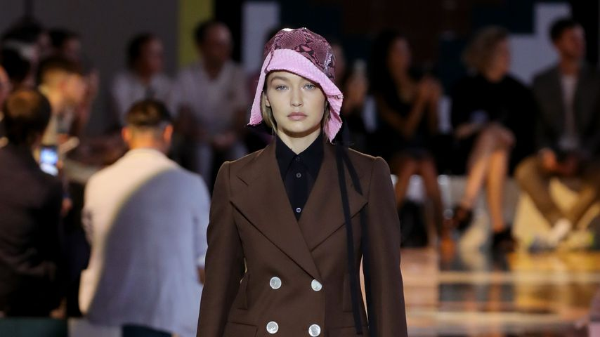 Gigi Hadid bei der Mailand Fashion Week im September 2019