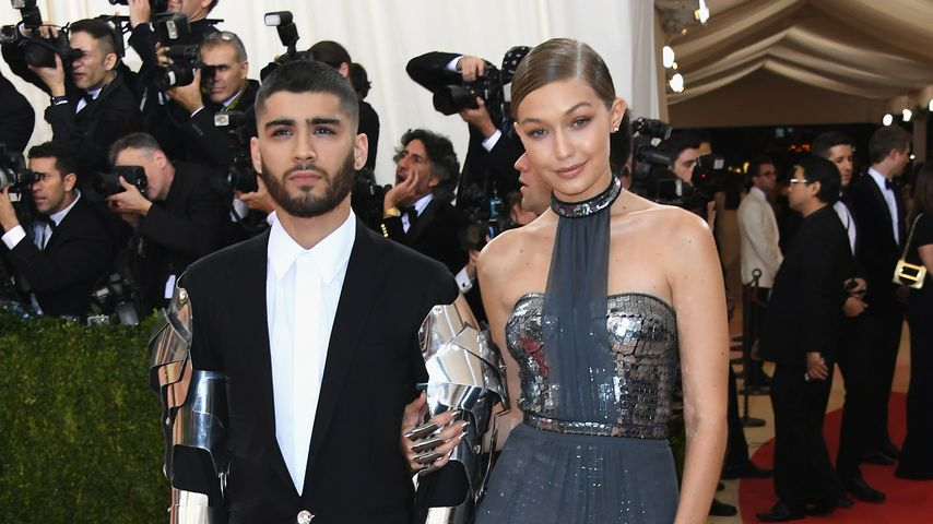 Gigi Hadid und Zayn Malik bei der 'Manus x Machina: Fashion in an Age of Technology' MET Gala