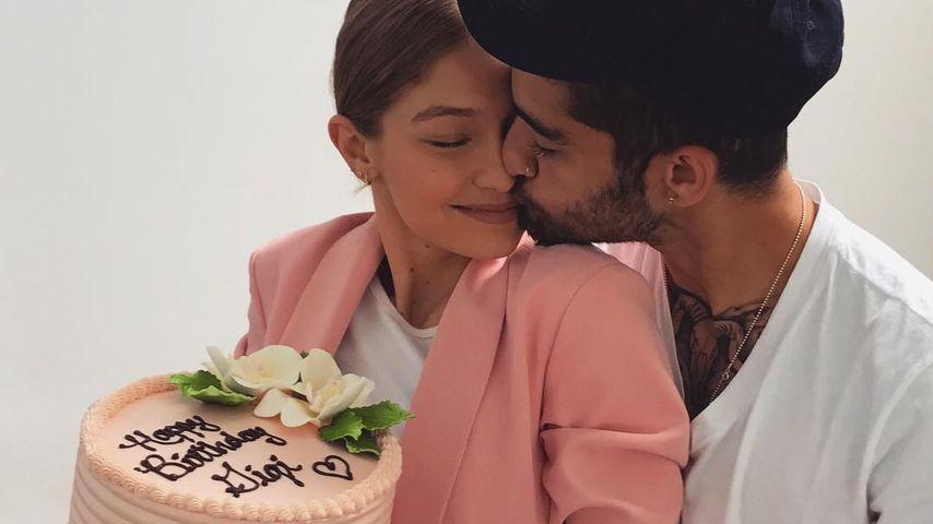 Süße Küsse: So gratuliert Zayn Malik seiner Gigi zum B-Day!