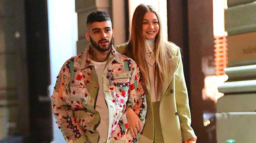 Model Gigi Hadid und Sänger Zayn Malik im Januar 2020