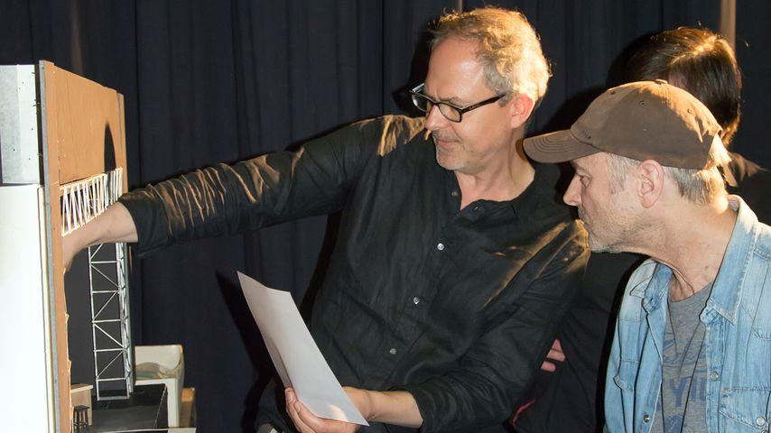 Regisseur Gilm Mehmert und Pete Wolf