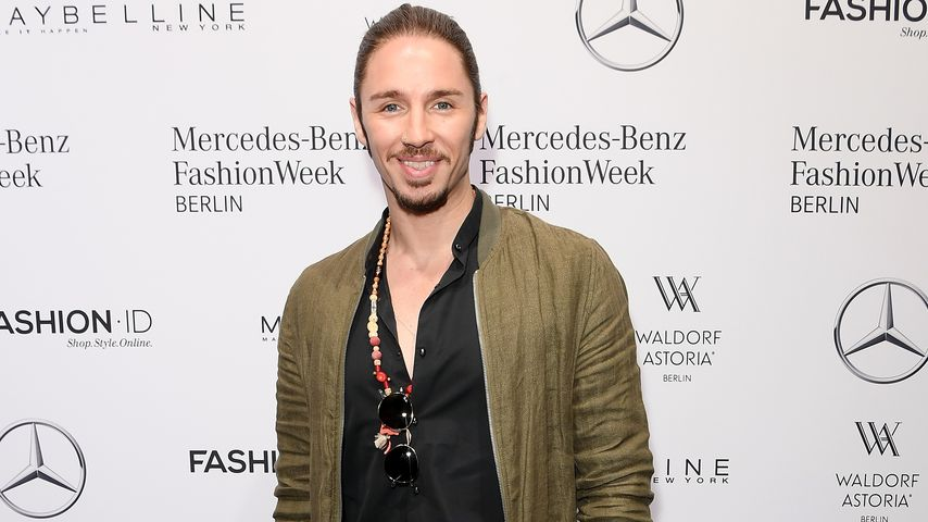 Gil Ofarim auf der Mercedes-Benz Fashion Week in Berlin