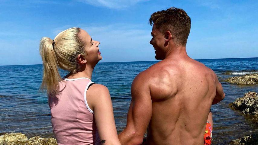 """""""Freue mich auf Reise"""": Cedric postet Pärchenbild mit Gina"""